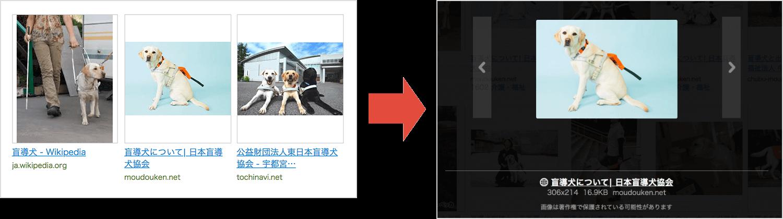 画像部分の拡大表示の説明画像