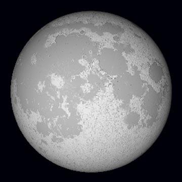 月を見るときは