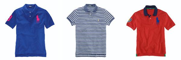 ラルフ・ローレンのポロシャツ