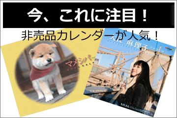 入手困難『非売品カレンダー』はコレ!