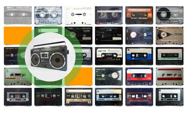 『カセットテープ』