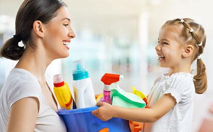 楽しみながらトライ! お子さんと一緒にできる大掃除のコツ5選