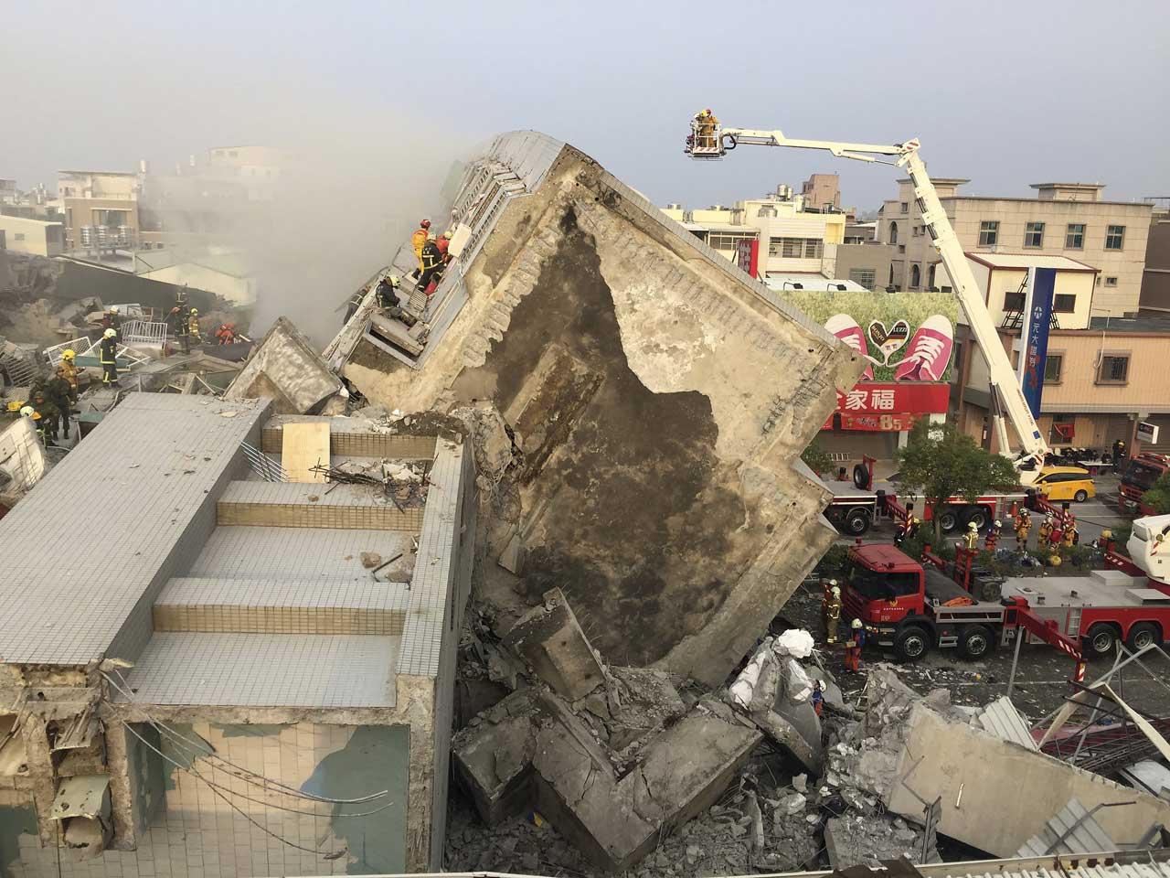 台湾南部地震緊急支援募金(Yahoo!基金)