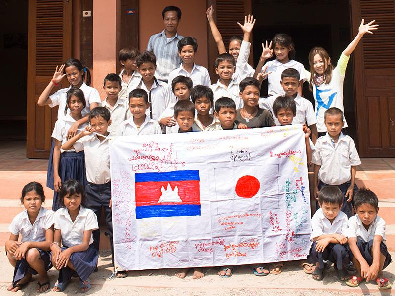 倉木麻衣 みんなでカンボジアに寺子屋を建てよう!プロジェクト