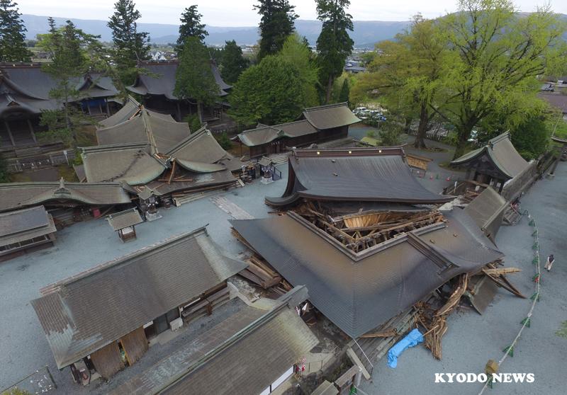 「阿蘇の精神的支柱」阿蘇神社の再建に支援を!