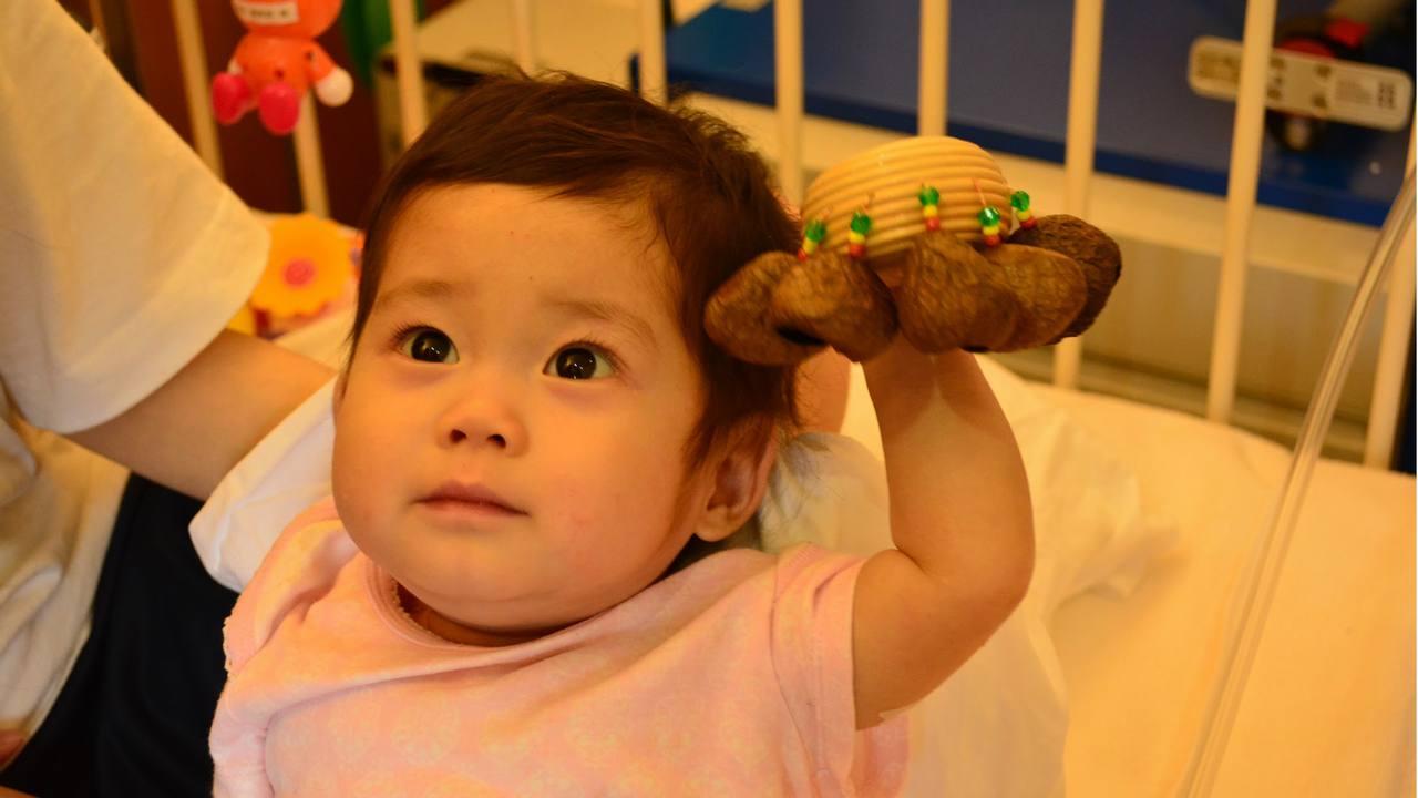 10万人に1人の難病、拡張型心筋症と闘うひまりちゃん(1歳6カ月)へ募金のご協力をお願い致します。