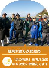 狐崎水産6次化販売