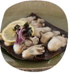 三陸の海の幸で作った料理