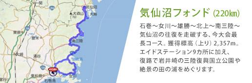 気仙沼フォンド(220㎞)