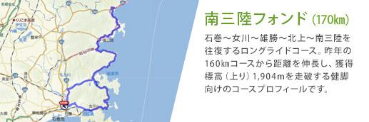南三陸フォンド(170㎞)