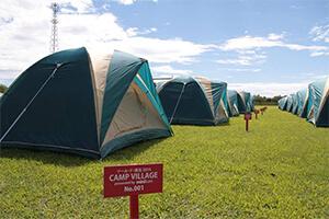 Camp Villageの様子