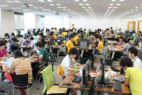 Open Hack Dayの写真