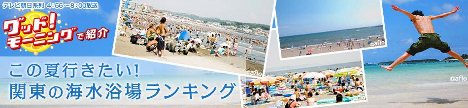 関東の海水浴スポットランキング