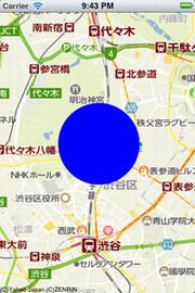 円の表示例