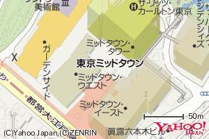 縮尺レベル18の地図