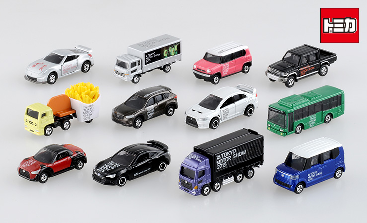 東京モーターショー開催記念トミカの販売や、トミカの大ジオラマ、フォトコーナーでトミカの世界をお楽しみ下さい。