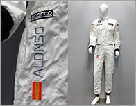 F1ドライバー レプリカレーシングスーツ(F.アロンソ直筆サイン入り)