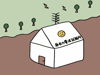 無気力電波試験所