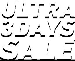 ウルトラ3DAYS SALE