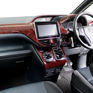 車の内装を極めるインテリアパネル