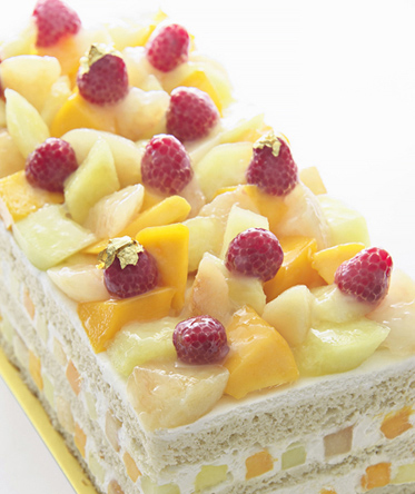 スーパーフルーツショートケーキ