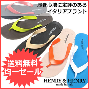 HENRY&HENRY ビーチサンダル