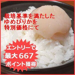 北海道産ゆめぴりか 白米5kg