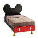 ポップなミッキーがベッドに変身、いい夢が見れそう