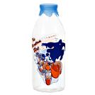 ミッキーの物語のワンシーンが!レトロなミルクボトル