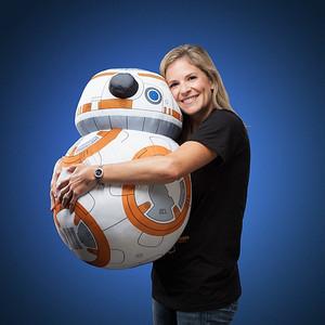 スターウォーズ BB-8のぬいぐるみ