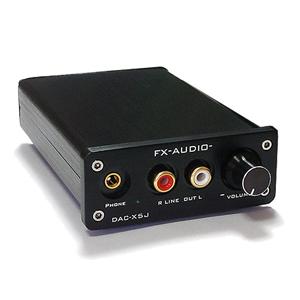 FX-AUDIO- DAC-X5J 黒