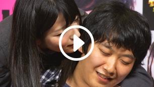 上原亜衣編 #2:29歳カメラマン氏は後ろから抱きしめられての耳責めに骨抜き状態!