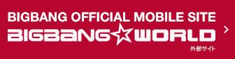 BIGBANG OFFICIAL MOBILE SITE BIGBANG WORLD 外部サイト