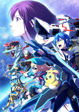 PHANTASY STAR ONLINE2 THE ANIMATION TBS 1月7日より毎週木曜25:46~