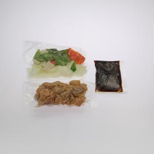 まろやか黒酢の酢豚お届けイメージ