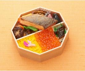 三陸彩り 金華ぎん 鮭弁当