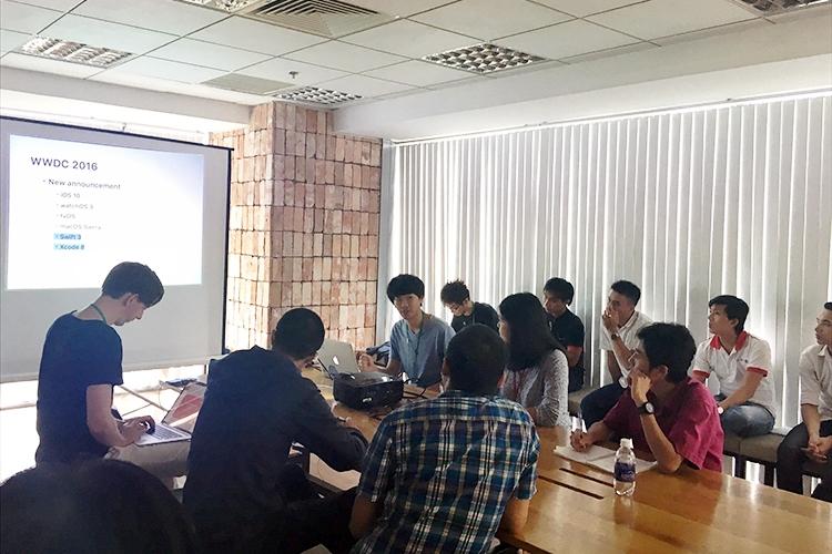 Giới thiệu hoạt động chia sẻ kiến thức ở TBV