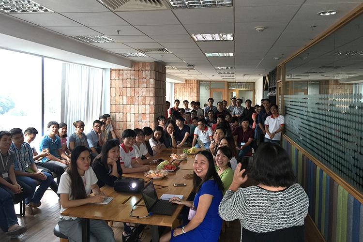 Văn hóa chia sẻ ở Techbase Việt Nam