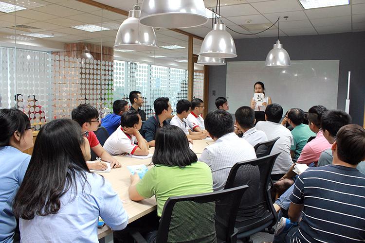 Lớp học Nhật ngữ ở Techbase Việt Nam