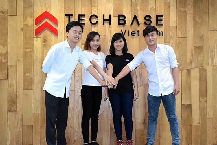 Thực tập sinh đầu tiên ở Techbase Việt Nam