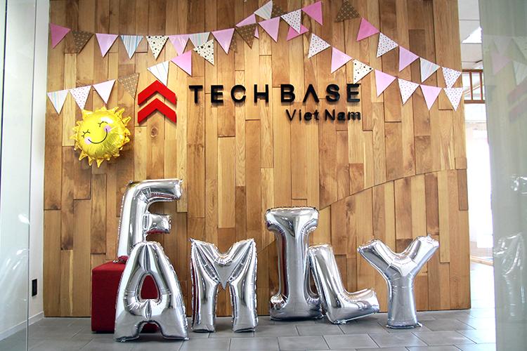 Ngày Gia Đình ở Techbase Việt Nam♪♪♪