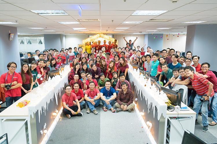 Giáng Sinh ở Techbase Việt Nam