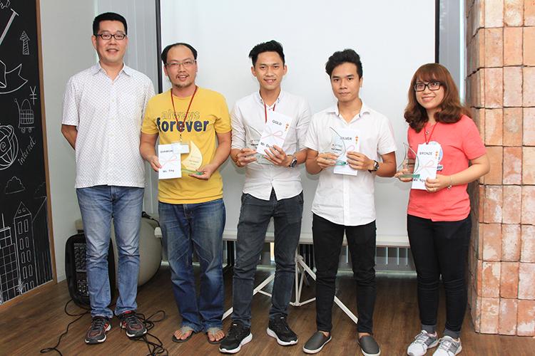 Techbase VietNam Award Q3 2017